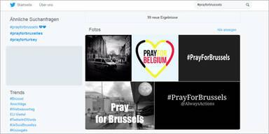 Terror in Brüssel: So trauert das Netz