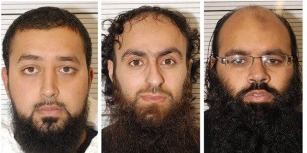 Terrorplanungen: Hafturteil für 11 Männer