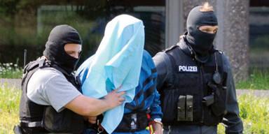 Verhaftung eines Terror-Verdächtigen