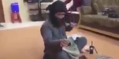 ISIS-Kämpfer lacht über Vergewaltigung