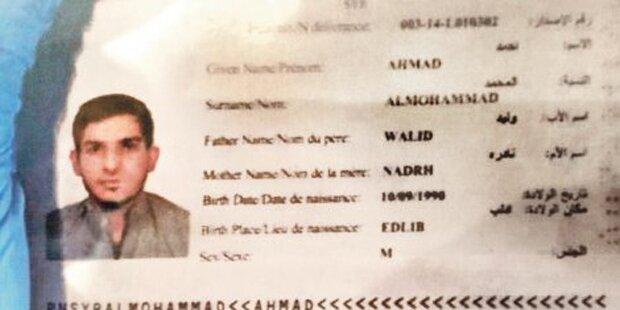 Paris-Terrorist mit gefälschtem syrischen Pass