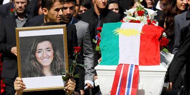 Norwegen: Erstes Terror-Opfer begraben