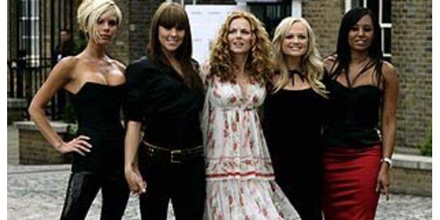 Spice Girls werben für Supermarktkette