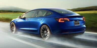 Neue Tesla-Technik für teilautomatisiertes Fahren