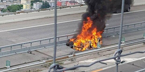 Tödlicher Horror-Crash mit Tesla