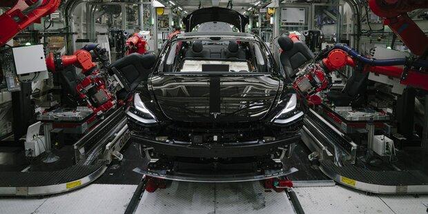 Jährlich 500.000 Tesla aus Deutschland
