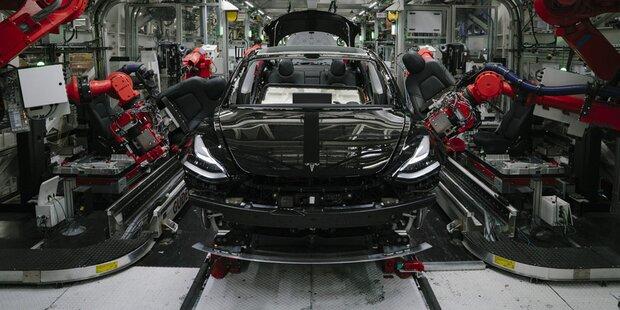 Model 3: Tesla schafft Produktionsrekord