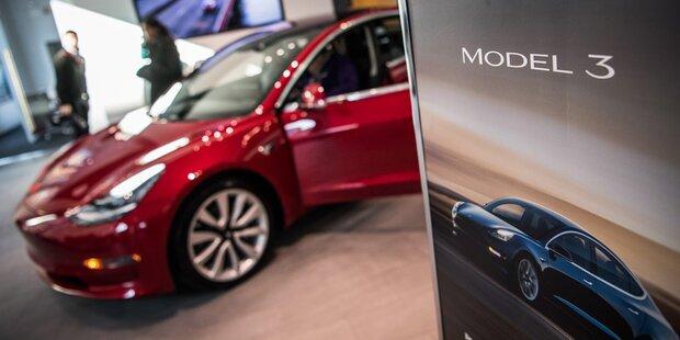 Tesla verkaufte weniger Model 3