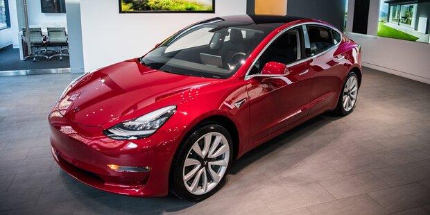 Vorerst keine E-Auto-Förderung für Tesla Model 3