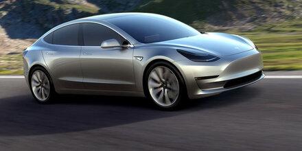 Alle Infos vom Tesla Model 3 aufgetaucht