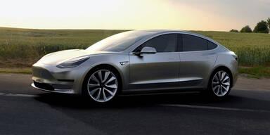 Tesla Model 3: Beim Start kaum Extras