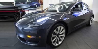 Tesla Model 3 startet bald in Europa