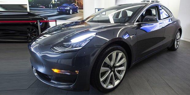 Tesla peilt neuen Verkaufsrekord an