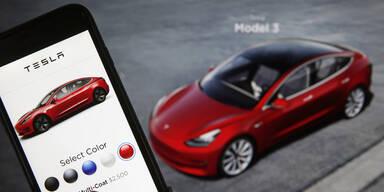 Deutscher bestellte aus Versehen 27 Tesla Model 3