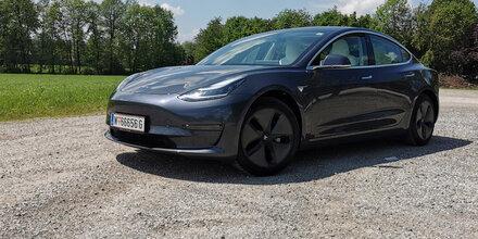 Tesla Model 3 im großen Reichweitentest