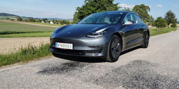 So viele Teslas gibt es in Österreich