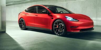 Jetzt wird das Model 3 noch sportlicher