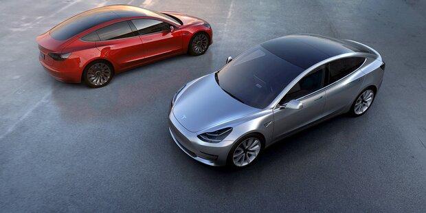 Tesla Model 3 kommt endlich in die Gänge