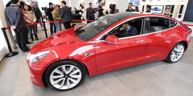 Model 3 sorgt für neuen Tesla-Rekord
