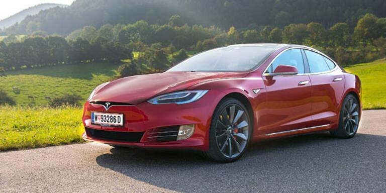Tesla Model S jetzt mit 630 km Reichweite