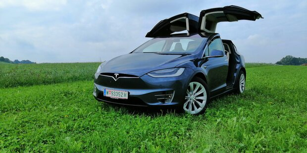 Teslas Elektro-SUV Model X im großen Test