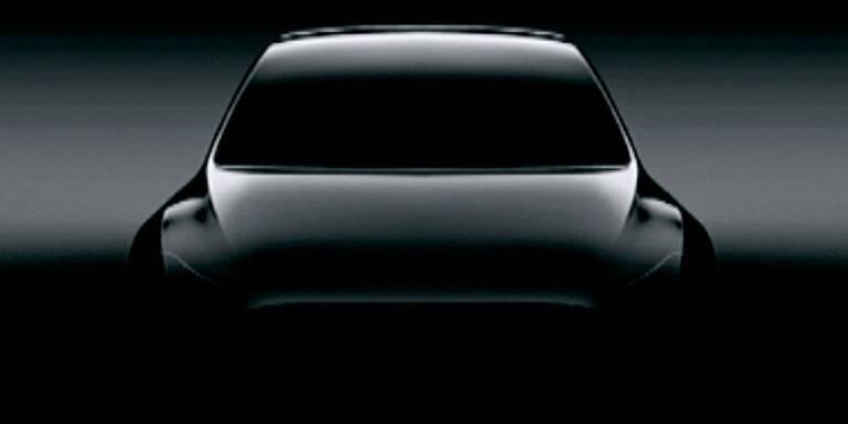 "Tesla bringt E-Kompakt-SUV ""Model Y"""
