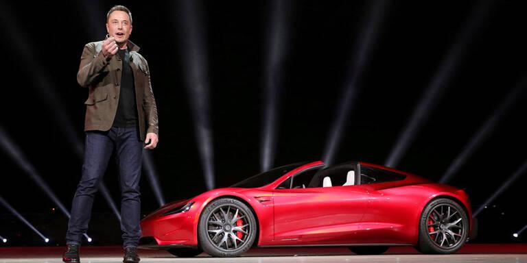 Tesla-Chef offen für Fusion mit anderen Autobauern