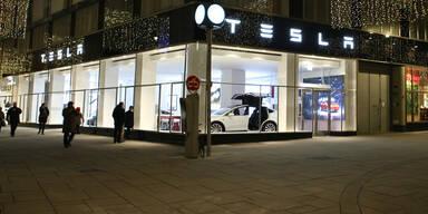 Tesla hat jetzt einen Flagship-Store in Wien