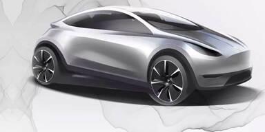 """""""Tesla für alle"""": Einstiegsmodell im Golf-Format"""