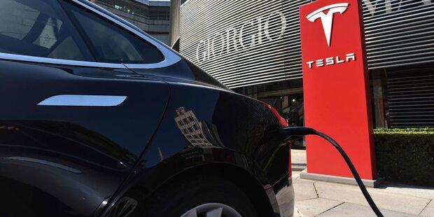 Tesla-Autos bald in Sekunden aufgeladen?