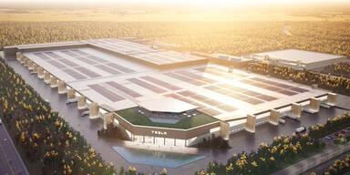 So soll das neue Tesla-Werk in Deutschland aussehen