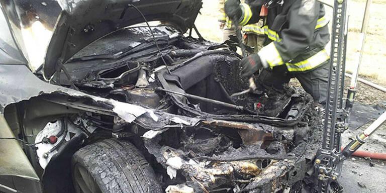 Nächster E-Sportwagen geht in Flammen auf