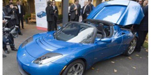 Schnellstes E-Auto der Welt fuhr in Graz