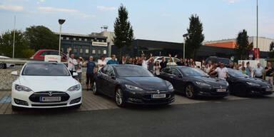 Tesla setzt Offensive in Österreich fort