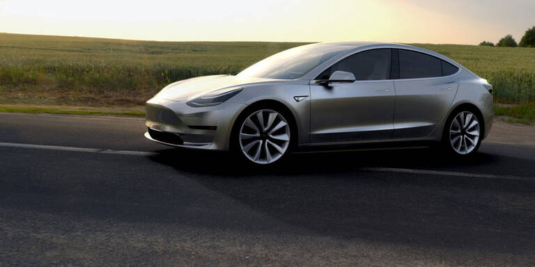 Tesla Model 3: Ansturm wie aufs iPhone