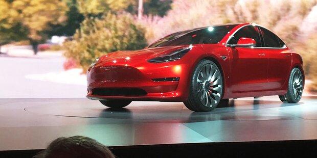 Tesla setzt alles auf das Model 3