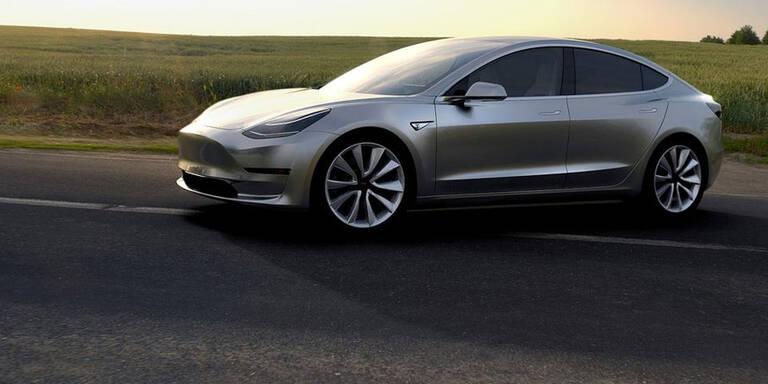 Tesla Model 3 in 2,8 Sek. auf 100 km/h
