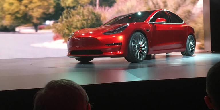 Tesla Model 3 kommt auch mit Allrad