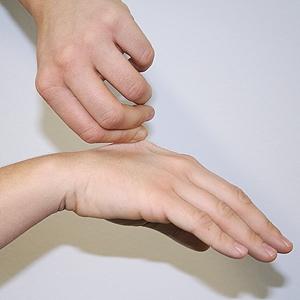 test-hand