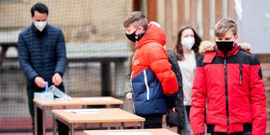 Schnelltests an Schulen spürten in Wien 31 Corona-Fälle auf
