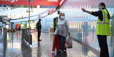 corona einreise test urlaub flughafen