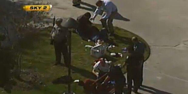 Verletzte auf Texas-Uni