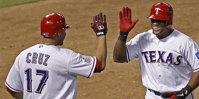 Texas Rangers vor großem Triumph