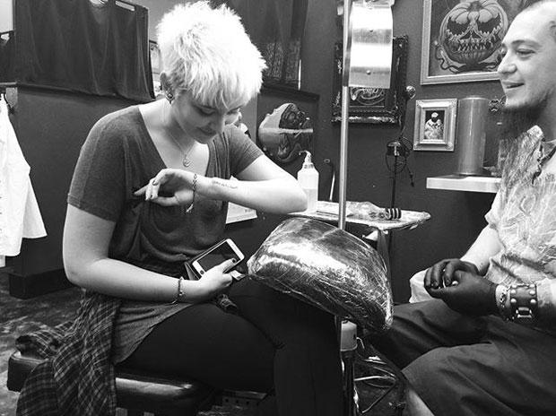 Paris Jackson: Tattoo für ihren Vater