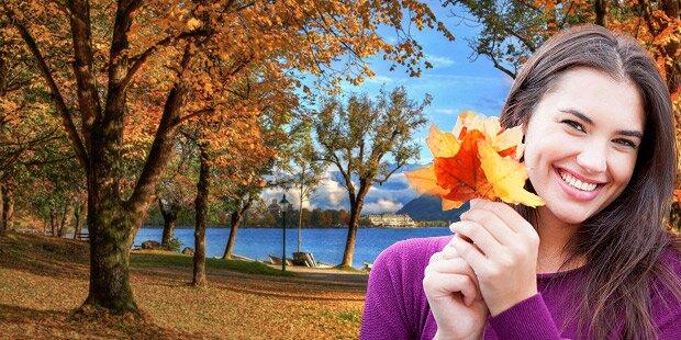 Traum-Herbst bleibt noch eine Woche