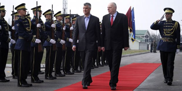 Kosovo plant eigene Armee