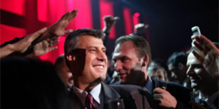 Wahlsieger Hashim Thaci