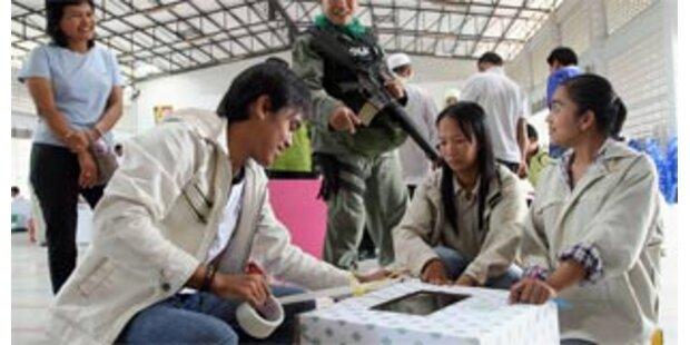 Thailands Verfassung mit 58 Prozent angenommen