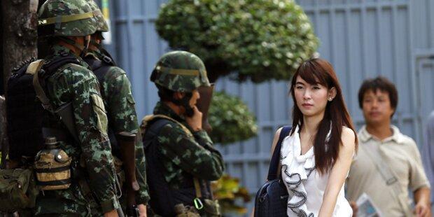 Thailands Armee verhängt Kriegsrecht