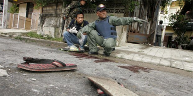 Fünf buddhistische Mönche ermordet